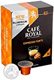 Café Royal Espresso Forte 36 Nespresso* kompatible Kapseln aus Aluminium, Intensität 8/10