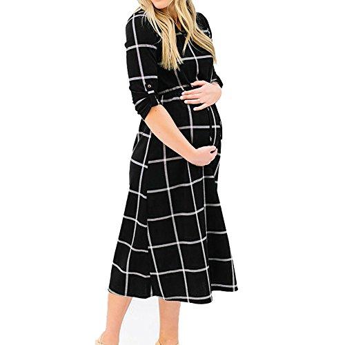 Sencillo Vida-1 Vestido de fotografía de Embarazo, Sexy, de Gasa, para Maternidad,...