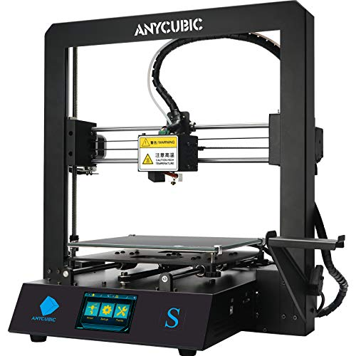 ANYCUBIC Mega S 3D Printer, Upgrade FDM 3D Printer with Extruder and Suspended Filament Rack + Free...