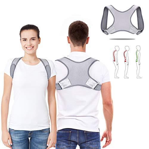 Geradehalter zur Haltungskorrektur - Haltungskorrektur Rücken Herren Damen,Rückentrainer Rückenstütze Schultergurt Haltungstrainer Posture Corrector,für Nacken Rücken Schulterschmerzen, MEHRWEG
