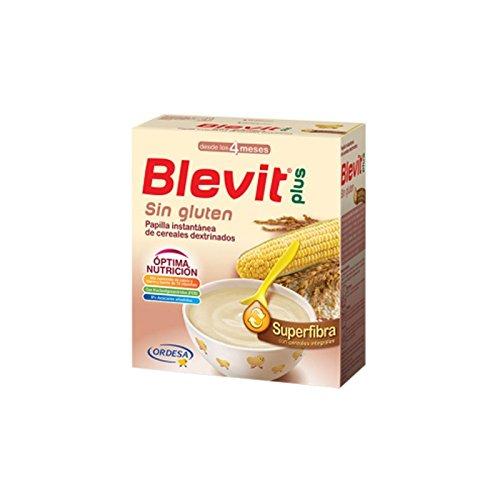 Blevit Plus Superfibra Sin Gluten, 1 unidad 600 gr. A partir de los 4 meses.