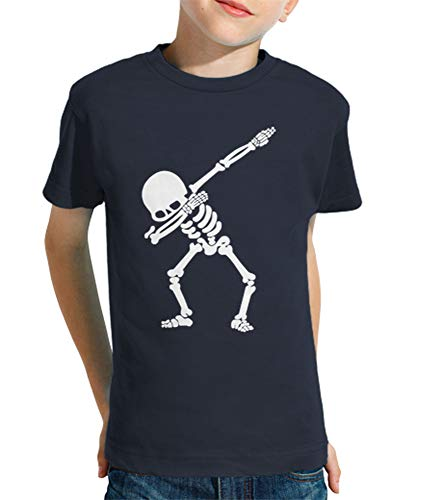 latostadora - Camiseta Esqueleto Dab para Nino y Nina