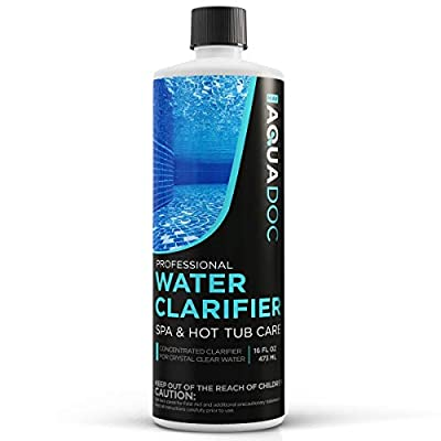 MAV AquaDoc Spa Clarifier & Hot Tub Clarifier for Fast Acting Cloudy Water Treatment, The Spa Clarifier Hot Tub Owners Love, Use Our Hot Tub Water Clarifier to Keep Your Spa Clear & Balanced 16oz