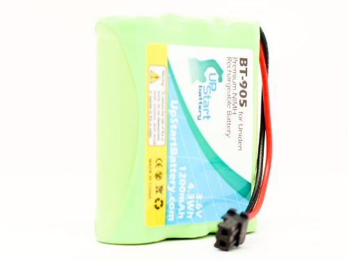 Replacement for Panasonic P-P504 Battery - Compatible with Panasonic Cordless Phone Battery (1200mAh 3.6V NI-MH)
