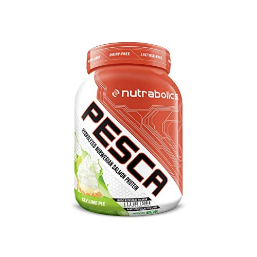 Nutrabolics Pesca ProGo Hydrolyzed Salmon Protein Key Lime Pie, 500 g