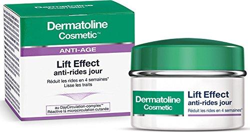 Dermatoline Cosmetic Lift Effect Anti-rides Jour 50 ml + Lift Effect Anti rides Nuit 15ml offert