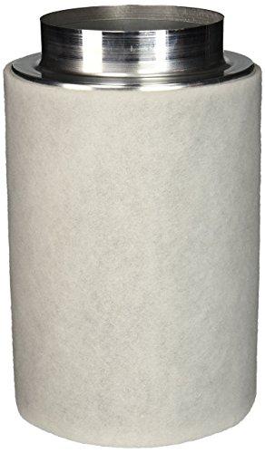 Phresh HGC701265 Intake Carbon Filter, 6 in x 12 in | 450 CFM, Silver
