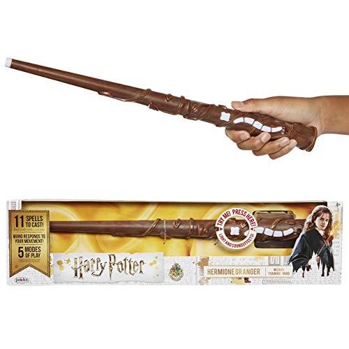 Jakks Pacific Harry potter-varita magica con hechizos-hermione, color granger, talla única (73210) , color/modelo surtido