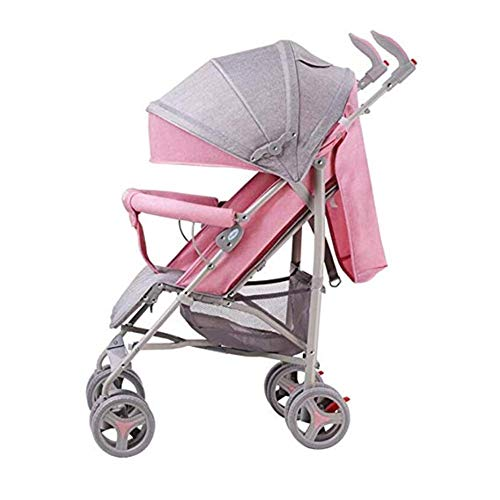 Fantastic Deal! Gflyme Stroller Stroller, Lightweight Folding Stroller Shock Absorber Stroller Can S...