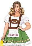 Leg Avenue Women's Plus-Size Oktoberfest Sweetie Costume, Multi, 3X