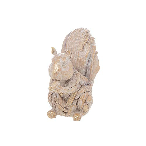 The Leonardo Collection Driftwood Effect Squirrel Ornament