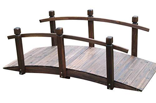 GardenMarketPlace Gartenbrücke aus Holz, 1,5 m breit