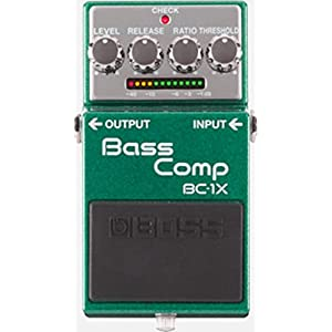Boss Bass Compressor Pedal