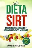 LA DIETA SIRT: Brucia i Grassi Addominali in 7 Giorni con la Dieta del Gene Magro