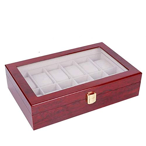 WYBFZTT-188 New Double-Layer Leather Jewellery Box Ear Stud Earrings Ornament Storage Box Multi-Function Large Jewelry Box