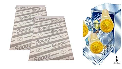 Universal Dunstabzug-Flachfilter 2er-Set - 57 x 47cm für alle 60 cm Dunstabzugshauben - individuell zuschneidbar