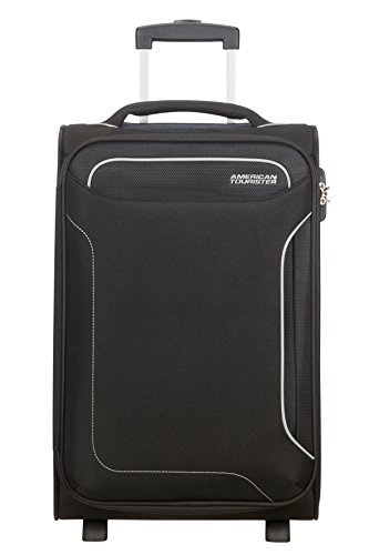 American Tourister Holiday Heat Bagaglio a Mano, Upright S, lunghezza 35cm (55cm-39L), Nero (Black)