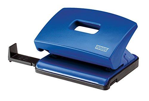 Novus C 216 Bürolocher (Kunststoff mit Funktionsteilen aus Metall) für 16 Blatt blau