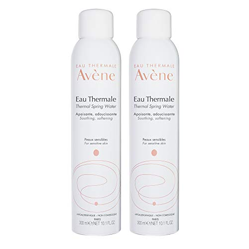 Price comparison product image Eau Thermale Avene Thermal Spring Water,  Soothing Calming Facial Mist Spray Duo,  10.1 oz.,  Set of 2