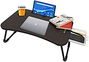 Callas Multipurpose Foldable Laptop Table | Mac Holder | Table Holder Study Table, Breakfast Table, Foldable and...