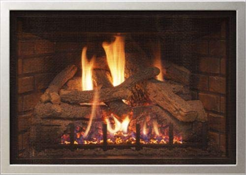 For Sale! RH Peterson Co. Real Fyre DVO-30-3FS Frame Overlay - Satin Stainless Steel