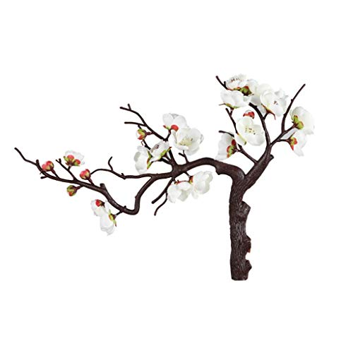GCX Lifelike Fake Flower Lamei Magnolia Simulation Flower Set Fake Flower Living Room Home Decoration Decoration Warm (Color : B)