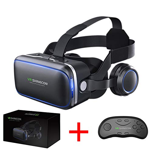d1f06c6e2a77 VR SHINECON Original 6.0 VR Headset Version Virtual Reality Glasses Stereo  Headphones 3D Glasses Headset Helmets
