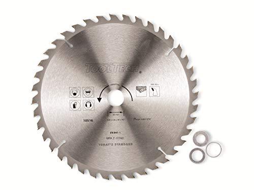 Cirkelzaagblad 180 x 2,4 mm 40 tanden hout spaanplaat multiplex hand tafel cirkelzaag