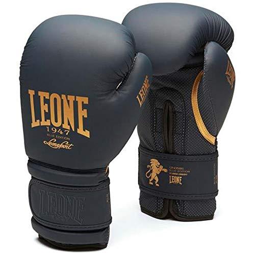Leone Boxhandschuhe, Blue Edition, blau Größe 12 Oz
