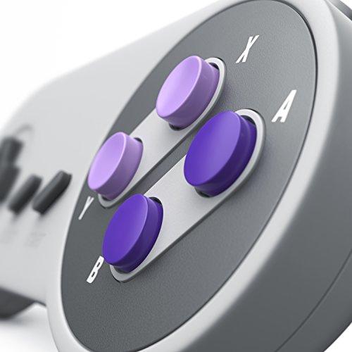 CSL - USB Gamepad SNES/Joypad Controller Retro Design | für Desktop PC/Notebook/Tablet-PC | Windows 10 Controller
