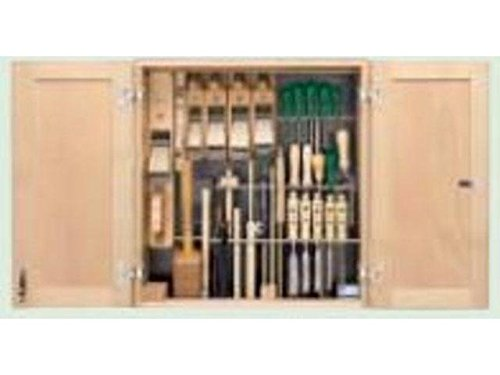 Ulmia–Schrank-System komplett mit Tools-Werkzeug 304Berufsausbildung Holztechnik