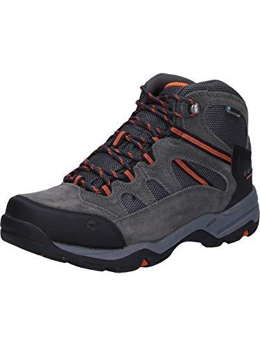 Hi-Tec Herren Banderra Ii Wp Trekking- & Wanderstiefel, Grau (Charcoal/Graphite/Burnt Orange 51), 48 EU