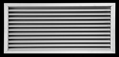 Aluminium Sichtschutz Tür Klimaanlage Lüftungsgitter–