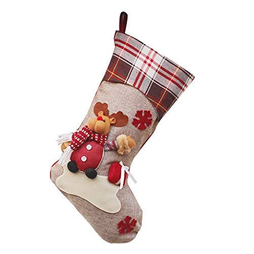 1 calcetines lindos adornos festivales, fiesta de Navidad, árbol de Navidad, decoración colgante de nieve, calcetines térmicos para hombre, calcetines divertidos