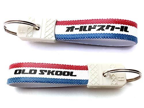昭和レトロ オールドスクール キーホルダー(昭和レトロOLD SKOOL KEY HOLDER)TRICOLORE