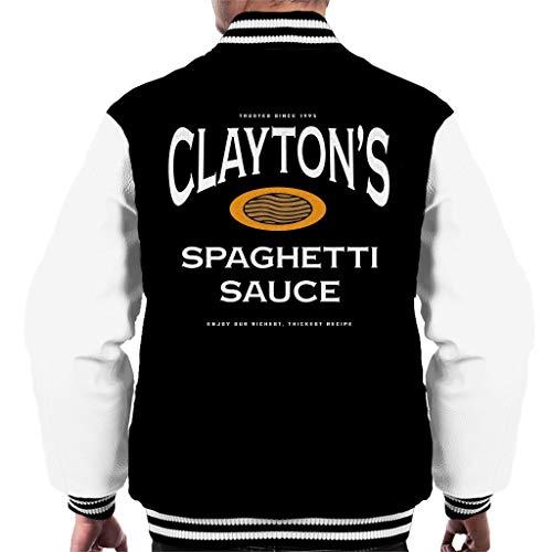 Claytons Spaghetti Saus Se7en Varsity Jacket voor heren