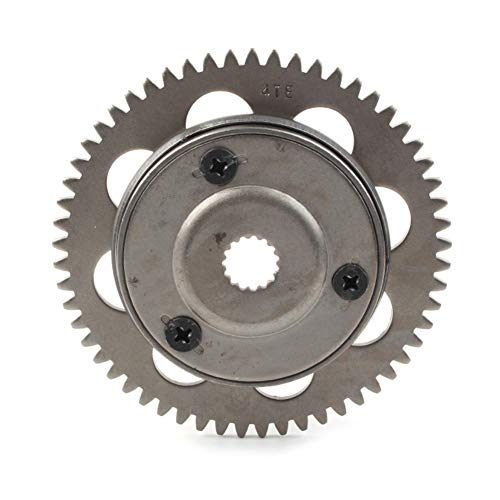 Newsmarts One Way Starter Clutch Driven Gear Assy Kit for Yamaha Breeze 125 1991-2004 / Grizzly 125 2004-2013 / YFM 125 2005-2008