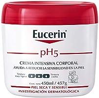 Eucerin Ph5 Crema Intensiva Corporal para Piel Sensible o Seca,450ml
