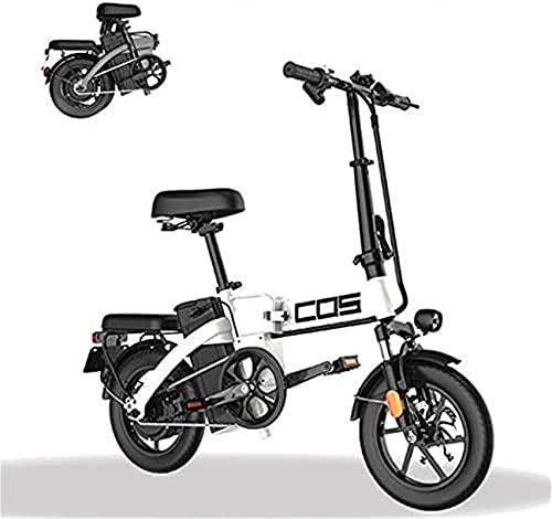 Bicicleta electrica Bicicletas, bicicleta eléctrica plegable de la montaña inteligente, para adultos, rango de potencia 280km Bicicleta extraíble 48V / 28.8Ah batería de litio con 3 modos de equitació