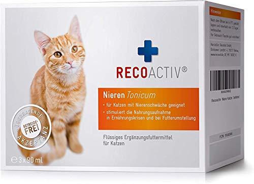 RECOACTIV® Nieren Tonicum für Katzen - Kurpackung 3x90 ml