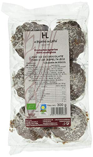 Horno de Leña - Pastas de Choco y Coco de Trigo Espelta Eco, 300 g