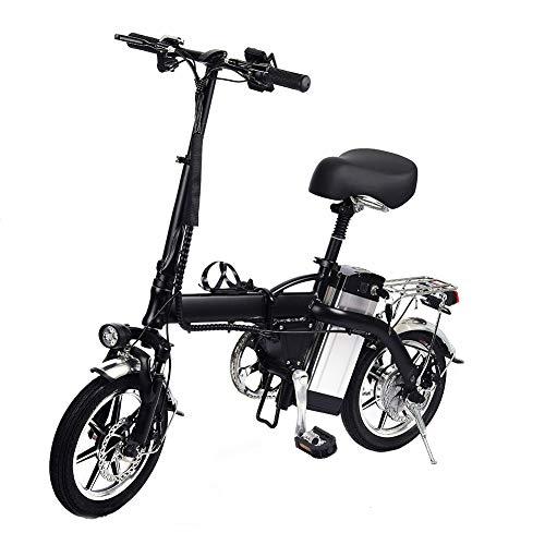 Faltbares Elektrofahrrad ist mit einem bürstenlosen350W Motor und einer48V12AhLithiumbatterie ausgestattet Faltrad E-bike kann auf drei Modi eingestellt werden um eine komfortable Fahrt zu erreichen
