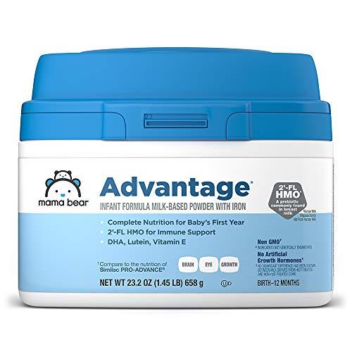 Mama Bear Advantage Baby Formula Powder with Iron, 2'-FL HMO for Immune Support, Infant Formula, 23.2 Ounce