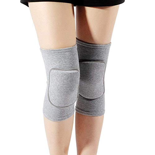Mmester Best Soft Knee Pads for Dancers Biking Football Soccer Tennis Skating Workout Climbing Exercise Work Yoga Pole Dance Volleyball Knee Pads for Women Girls Boys Child-M