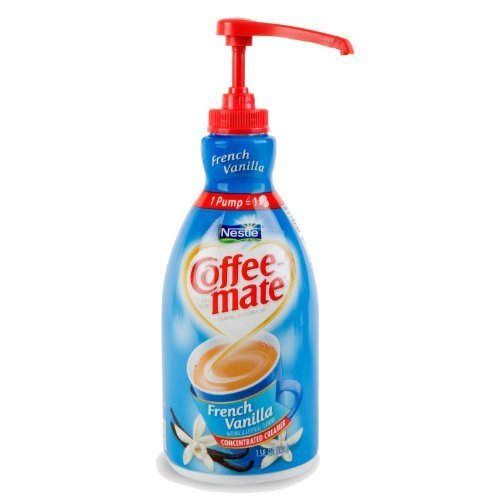 Coffee-Mate - Nestle Coffee Non-Dairy Coffee Creamer, 1.5liter French Vanilla by Coffee-Mate