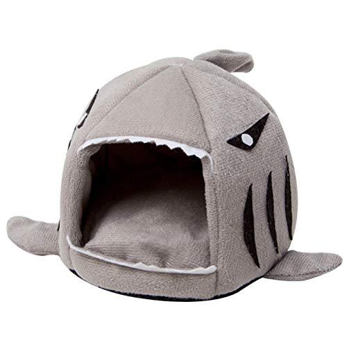 TiKiNi Kleines Haustier-Nest, Filz, Hai, Katzenhöhle, Tierbett, Baumwolle, warme Schlafmatte, Haus für Meerschweinchen, Igel, Spinne Chinchilla