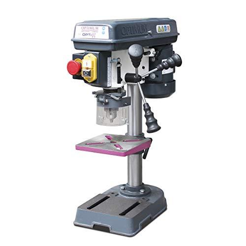 OPTIMUM Tischbohrmaschine OPTIdrill B13 Basic (mit Bohrtisch neigbar, Bohrtischenanschlag, Drehzahlbereich 520-2620 mm-1, Bohrmaschine) 3008013