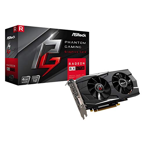 ASRock Phantom Gaming D Radeon RX 570 DirectX 12 RX570 4G 4GB 256-Bit GDDR5 PCI Express 3.0 x16 HDCP Ready Video Card