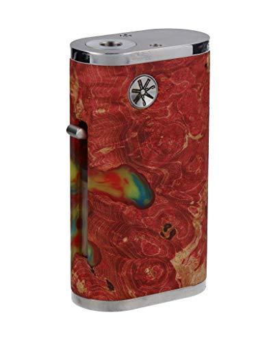 asMODus Pumper-18 mit 80 Watt - inkl. Squonker Flasche - ohne 18650er Akkuzellen - Farbe: resin-rot