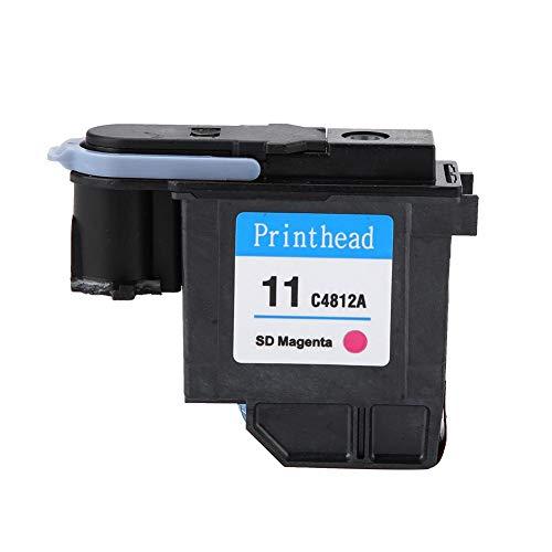 MAGT Cabezal de impresión, Colores Naturales Cabezal de impresión Impresión Suave Sin Atascos de Papel Cabezal de impresión para HP 500 510 Serie 800(C4812A)